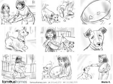 Merle Keller's Wildlife / Animals storyboard art